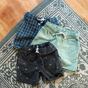 [Set of 3] Toddler shorts bundle